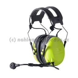 3M Peltor CH-3 FLX2 headset, páska přes hlavu - Ground Mechanic